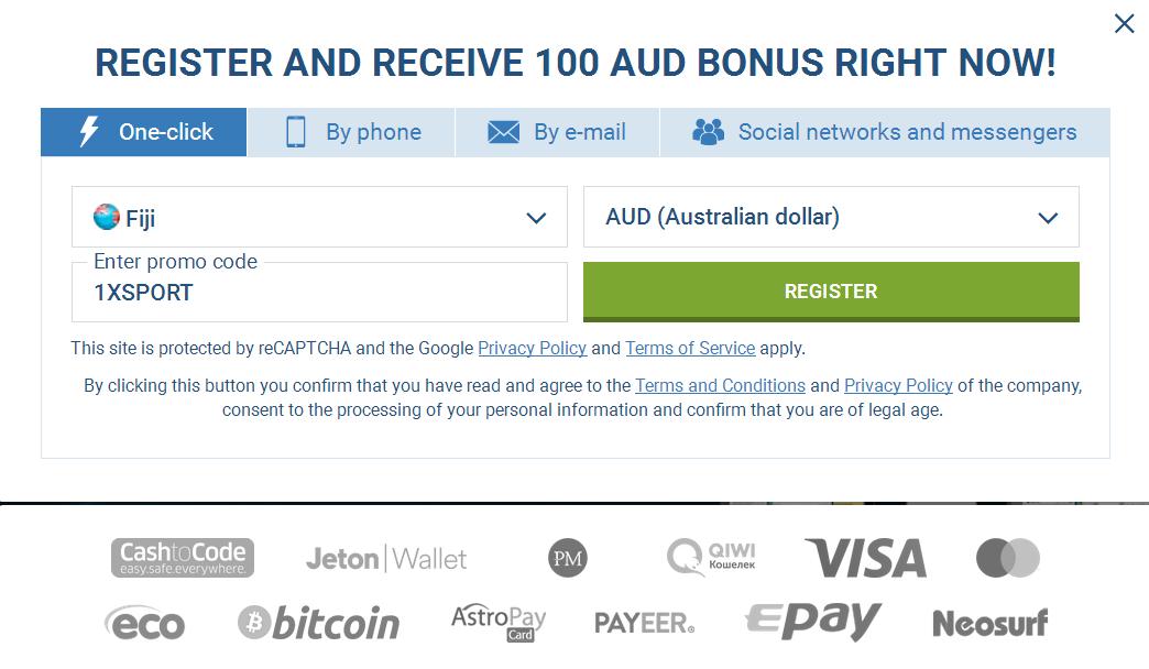 Australia Signup Account