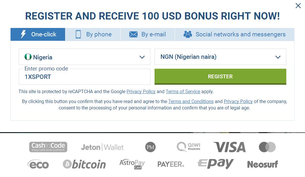 Nigeria Signup Account